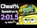 SpongeBob SquarePants: Battle for Bikini Bottom Cheat% Speedrun in 2:01.5 (WR on 7/22/2018)