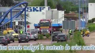 À Avallon, SKF bat un record avec un roulement de 59 tonnes destiné à la Chine.