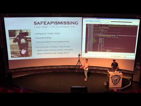 [TROOPERS15] Marion Marschalek, Joseph Moti - The Wallstreet of Windows Binaries