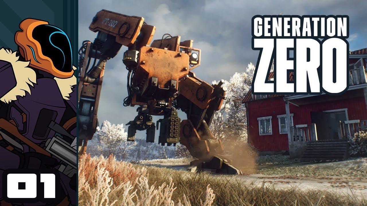 Download Let's Play Generation Zero - PC Gameplay Part 1 - Bjorn Gunnson, Robot Slayer Extraordinaire