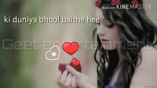 Whatapps status video song suno acha nhi hota kisi kp ese tadpana song