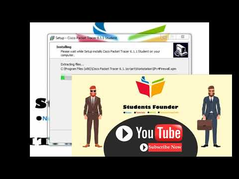 How to install Packet tracer | Students founder