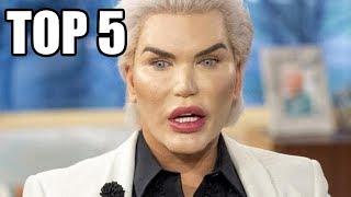 TOP 5 - Lidí, kteří prošli plastickou operací, aby vypadali jako celebrity