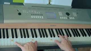 "Easy-to-Play Piano ""Lord I Lift Your Name on High"" - (Matt McCoy)"
