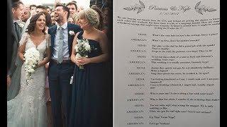 Irish bride makes hilarious slang translator for American guests at her wedding in Ireland