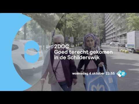 Promo 'Goed terechtgekomen in de Schilderswijk' 4 oktober 22:55 bij 2DOC/KRO-NCRV