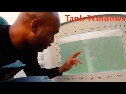 Installing The Fish Tank Windows | The Aquaponics God Ep.41