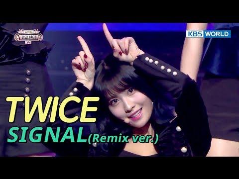 TWICE (트와이스) - Intro + SIGNAL (Remix ver.) [SUB: ENG/CHN/2017 KBS Song Festival(가요대축제)]