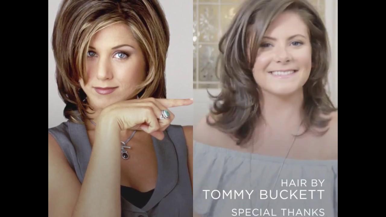 One Woman Gets The Rachel Haircut Youtube