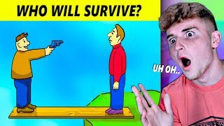 MESSED UP Mystery Riddles That Will Help Survival Skills!