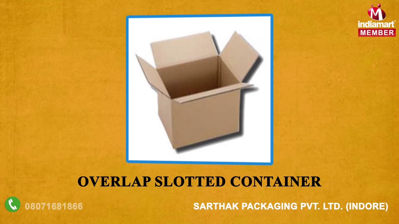 Packaging Boxes Folder By Sarthak Packaging Private Limited Indore