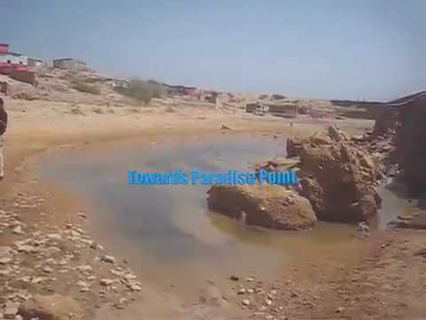 Trip Karachi Sea Kamari Manora Madir Sandpit Beach Paradise Point Hawkes Bay Sunset moon 30 Mar 2010