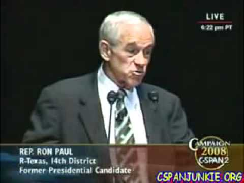Ron Paul Historic Rally for the Republic Full Speech in 2008