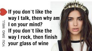 dua lipa blow your mind mwah lyrics