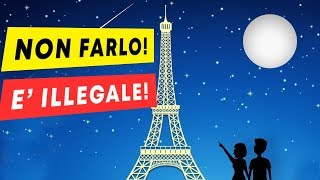 Scattare Foto di Notte alla Torre Eiffel è Diventato Illegale! ECCO IL MOTIVO