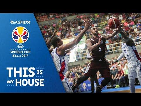 Venezuela v Dominican Republic - Highlights - FIBA Basketball World Cup 2019 - Americas Qualifiers