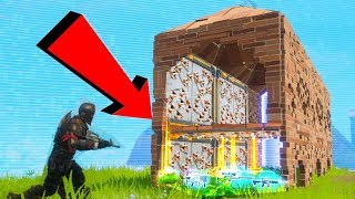 WE BUILT A LOOT TUNNEL OF DEATH! - Fortnite Battle Royale