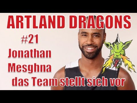 Artland Dragons 2017/2018 das Team stellt sich vor #21 Jonathan Mesghna