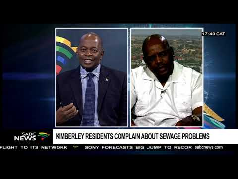 Sol Plaatje Municipality speaks on Kimberly sewage problems: Sello Matsie