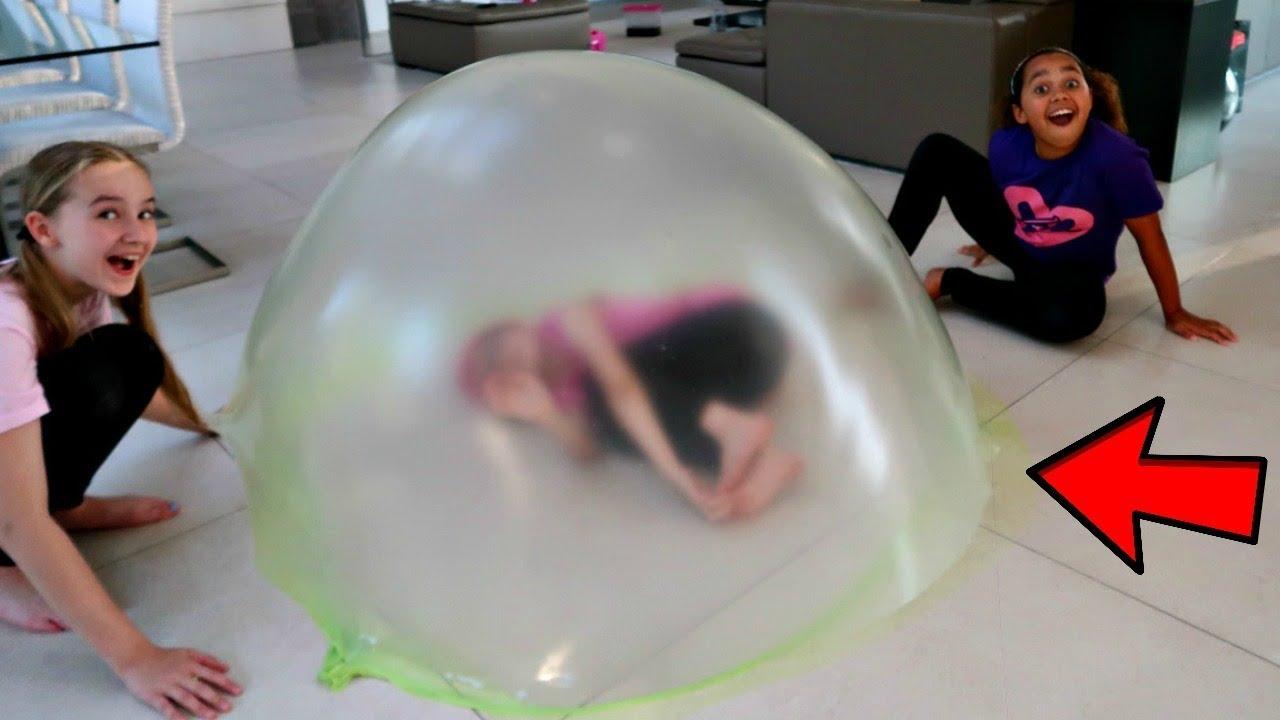 Tiana S Giant Slime Bubble Youtube
