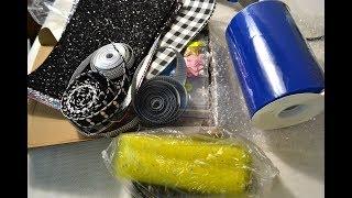 Покупка для бантиков/Экокожа/Много шаблонов/Фатин и ленты/Shopping For Kanzashi