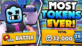 MOST BRAWL BOX TOKENS EVER! 500 TICKETS BET! | Brawl Stars | HOW TO GET BRAWL BOXES & TOKENS FAST!