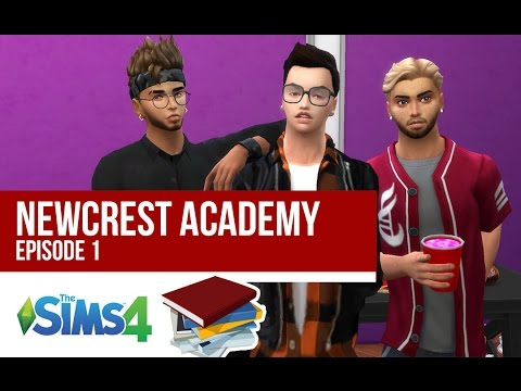 HIGH SCHOOL DRAMA | NEWCREST ACADEMY | Episode 1 | A Sims 4 Series