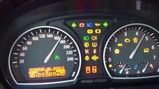 тест приборной панели BMW X3 E83