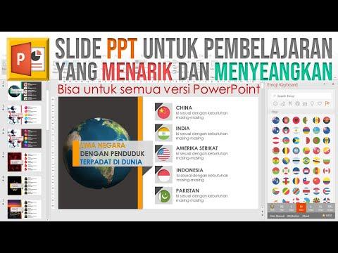 Cara Membuat PPT Menarik untuk Pendidikan | PowerPoint untuk Mengajar
