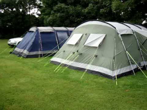 The Outwell Colorado 8 And Outwell Montana 6 Family Tents