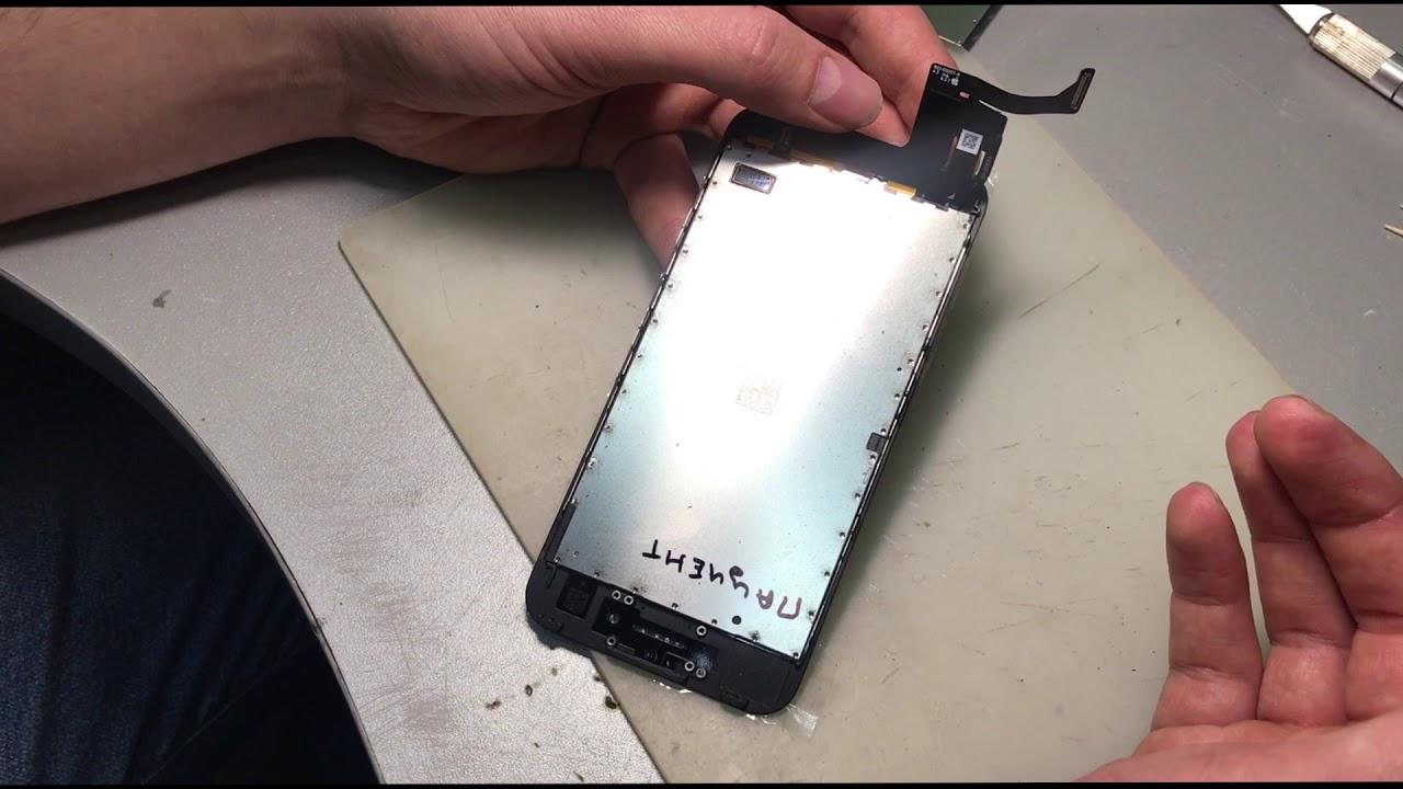 замена тач айди айфон 7 плюс