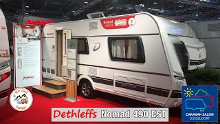 Vorstellung des Dethleffs Nomad 490 EST auf dem Caravan Salon 2019