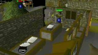 Runescape Wise Old Man Robbing Bank