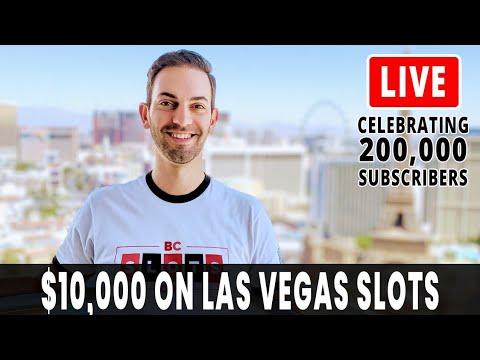 🔴 Live $10,000 Slot Play 🎰 Celebrating 200k Subscribers!