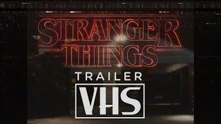 stranger things 2016 trailer 80 s vhs tape