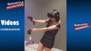 VIRTUAL REALITY SCARY COMPILATION 2016