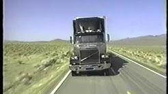Truck Tire Blowout