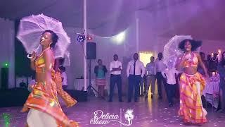 Spectacle danse tropical lors d'un mariage