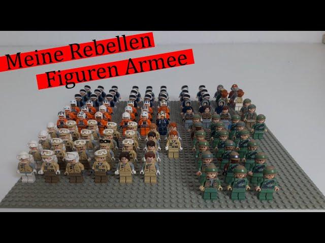 Meine Lego Star Wars Rebellen Figuren Armee