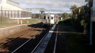 Electric train arriving at Yass Junction without wires!