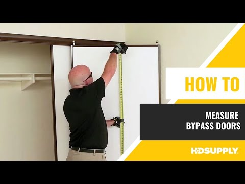 How To Measure Bypass Doors
