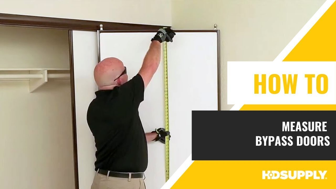How To Measure Bypass Doors Hd Supply Facilities