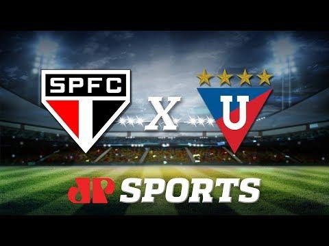 AO VIVO - São Paulo x LDU - 11/03/20 - Libertadores - Futebol JP
