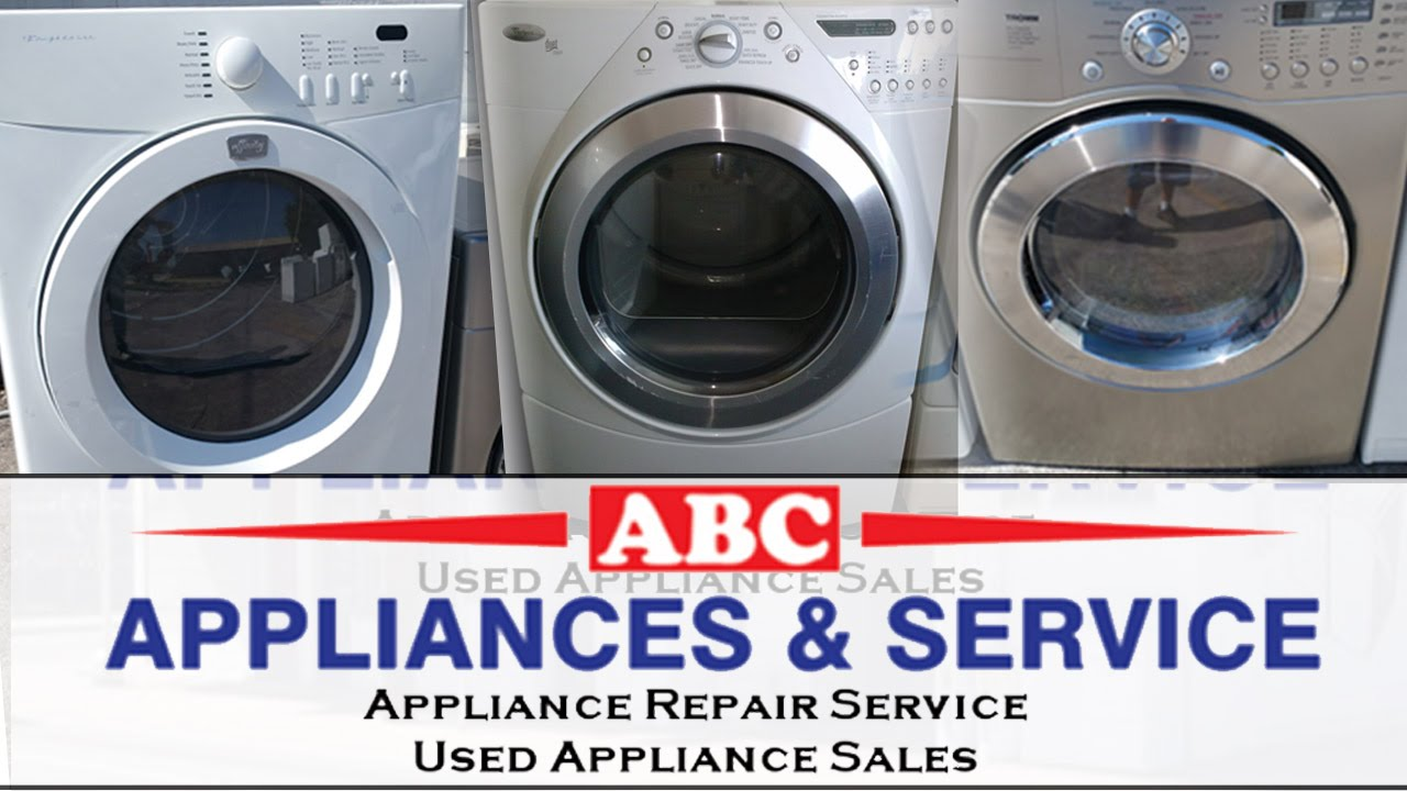 Appliances Tampa Gas Dryers For Sale Tampa 813 575 3005 Get Used Gas Dryers On