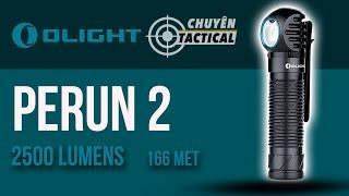 [Unbox] Trên tay đèn pin EDC OLIGHT PERUN 2-2500 lumens, cảm biến, sạc nam châm-Chuyentactical.com