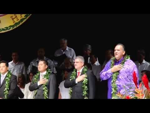 Inauguration of the Mayor and the County Council of the County of Kauai 2014