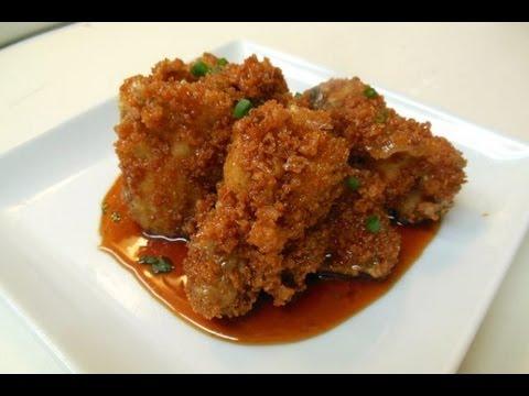 Panko Crusted Asian Wings
