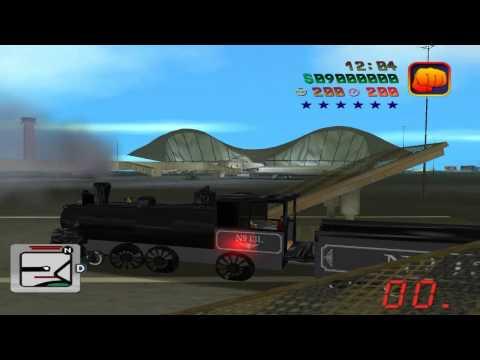 GTA: Vice City - BTTF Mod - No. 131 Locomotive (0.2e R2)
