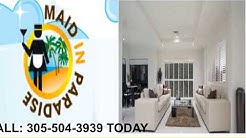 Islamorada FL Cleaning Service - 305-504-3939 Maid in Paradise