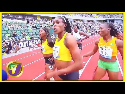 Elaine Thompson-Herah Runs 2nd Fastest time in Women's 100m History - August 21 2021
